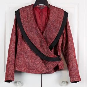 Beautiful Samuel Dong Wrap Jacket Size M